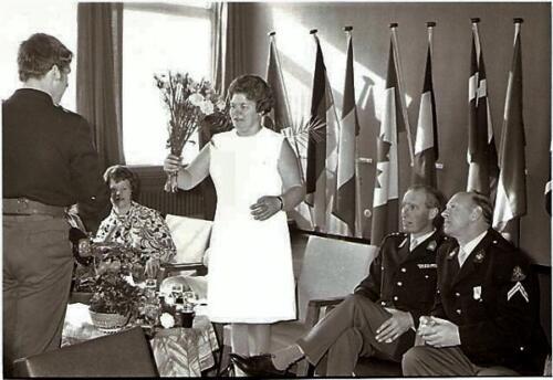 1970 - 1971 103 SSV-Verkbat BC Lkol vd Goes bij receptie Koninklijke medaille Smmt Gullik of Holleman