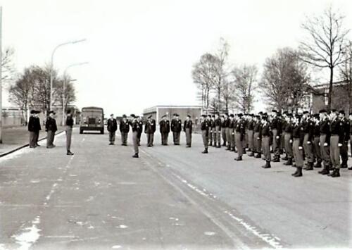 1970 1971 103 SSV Verkbat Bc Lkol vd Goes bij receptie Koninklijke medaille Smmt Gullik