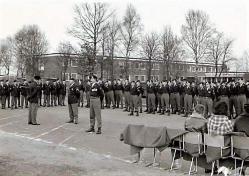 1970 1971 103 SSV Verkbat Bc Lkol vd Goes bij receptie Koninklijke medaille Smmt Gullik 1