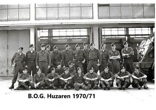 1970 1971 SSV Esk 103 Verkbat BOG personeel. Inz. Peter Haans