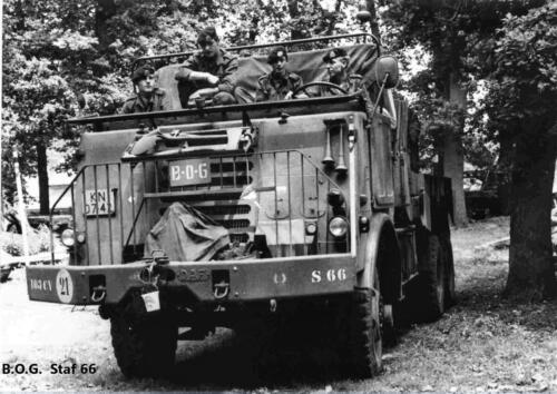 1970 1971 SSV Esk 103 Verkbat De BOG DAFs S 66 en S 67 Inz. Peter Haans 1