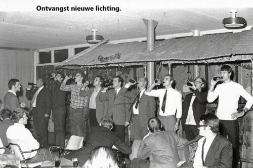 1970 1971 SSV Esk 103 Verkbat Indrinken o.a. Ritm Bruinink Sgt Kerkvliet Sm Kulik Inz. Peter Haans