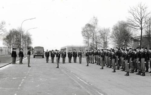 1970 1971 SSV Esk 103 Verkbat Owi Peeren meldt Esk aan Majoor Witteveen. Re Wmr I Boog Inz. Peter Haans