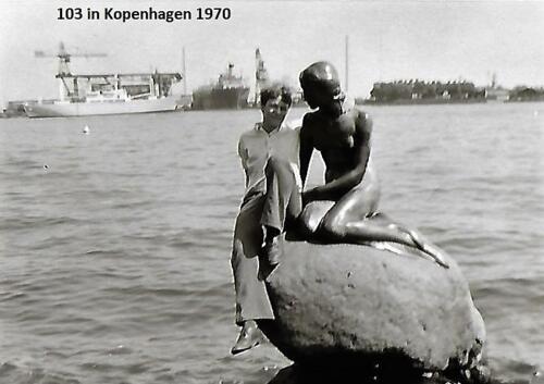 1970 1971 SSV Esk 103 Verkbat Weekendje Kopenhagen. Inz. Peter Haans 1