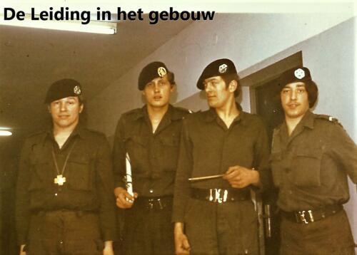 1970 1971 SSV Esk 103 Verkbat Wie heeft hier de leiding. Inz. Peter Haans