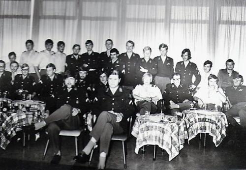 1970 1972 SSV Esk 103 Verkbat 2. Korporaalsvereniging. Zie begeleidend schrijven berging van inz. Jan Smit