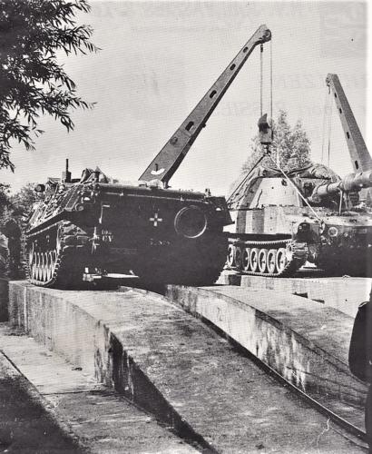 1970 1972 SSV Esk 103 Verkbat berging collegiale bijstand op de plaat. Inz. Jan Smit