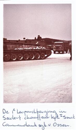 1970 1972 SSV Esk 103 Verkbat berging oefeningen en indrinken Inz. Jan Smit 1