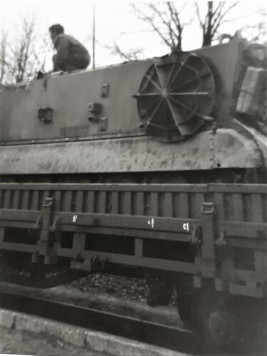 1970 A Esk 69 3 103 Verkbat Op weg voor efening in de Harz. Inz. Ad van den Berg