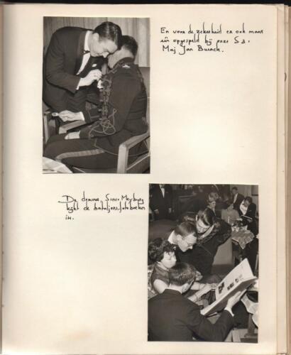 1970 B Esk 103 Verkbat Trahkehnerbal Majoor Buenk. Uit het fotoboek van de Elnt RRRE Meeder