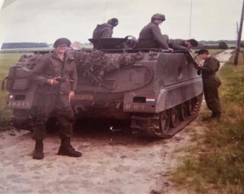 1970 SSV Esk 103 Verkbat John van Zanten bij de B 01 verder Elnt R Meeder