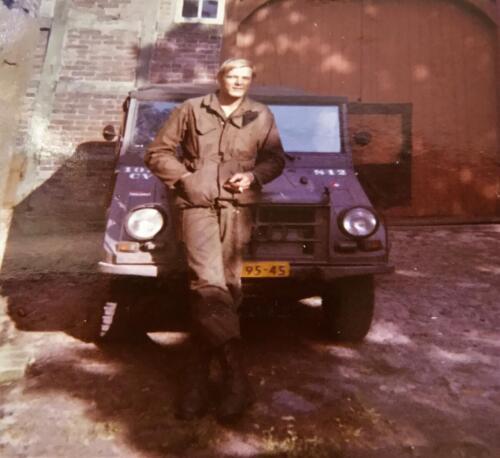1970 SSV Esk 103 Verkbat Munga ch C SSV Maj Witteveen John van Zanten 1
