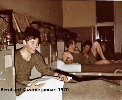 1970 SSV Esk 103 Verkbat Opkomst Bernhardkazerne. Inz. Peter Haans