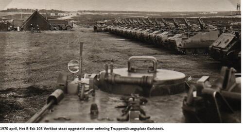 1970 april; B-Esk 103 Verkbat Oef Garlstedt