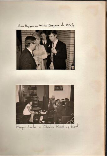 1971-07-17 B-Esk 103 Verkbat Afscheidsborrel bij Plv C Elnt R Meeder. Fotoboek R Meeder