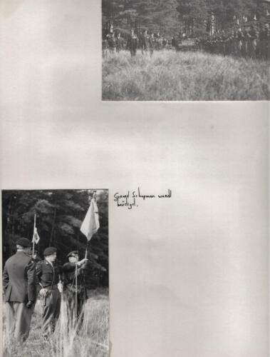 1971-07-01 B-Esk 103 Verkbat; Beëdiging Tlnt G. Schopman. Uit het fotoboek van de Ritm RRRE Meeder