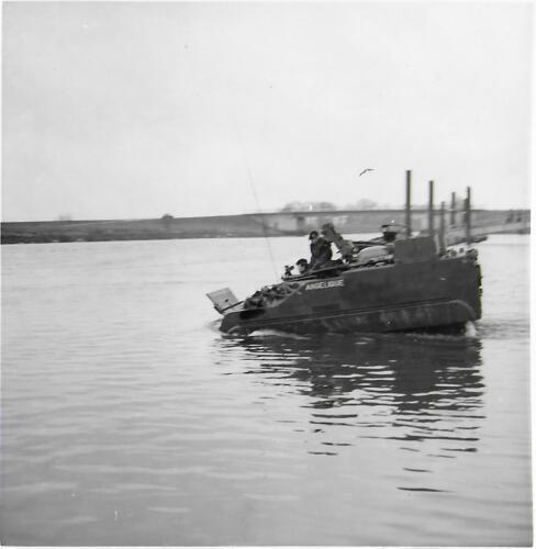 1971 05 A Esk 103 Verkbat Amfibische Oefening Hagengrinde Inz. Bill Nijhuis 4