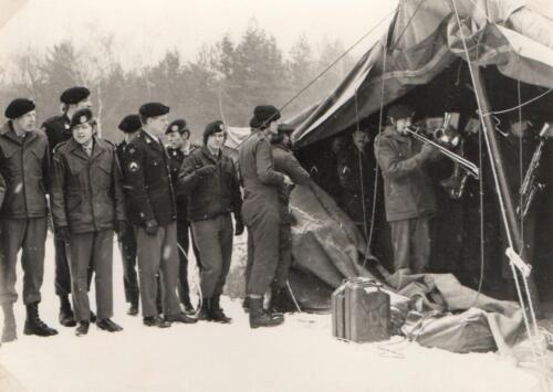 1971 10 15 A Esk 103 Verkbat Schietserie TDC. Wmr Korting Owi Sandberg en Wmr v Dijk