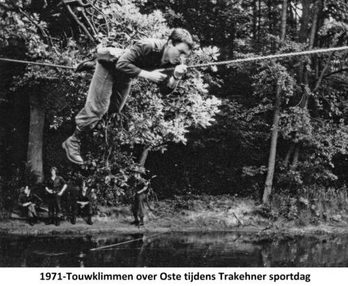1971 A Esk 103 Verkbat Deelname Trakehner sportdag. Fotoboek Ritm R Meeder