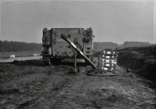 1971 A Esk 103 Verkbat li 71 3 Schietserie Ostenholz Inz. Bill Nijhuis 3