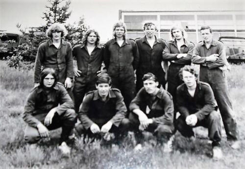 1971 A Esk 2e Pel 103 Verkbat Rechts Wmr v Dijk. Aangeboden door Job Fles.
