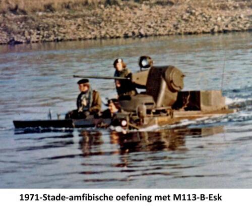 1971 B-Esk 103 Verkbat Amfibische oefening in Stade Fotoboek Ritm R. Meeder  (3)