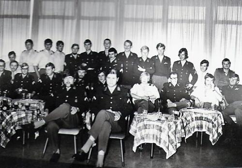 1971 SSV 103-Verkbat; Kpls  Ducardus, Schoonhoven, Lautenslager, Sportel, van Weert, Schoonus, Blonk, van der Ham, Smit, Wassen, Kriek, Hellings, Haak, Smulders.