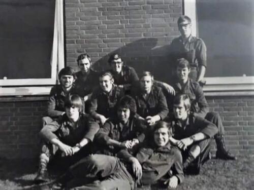 1972 01 SSV Esk 103 Verkbat BOG li 71 1 Inz. Meindert Greevink 2