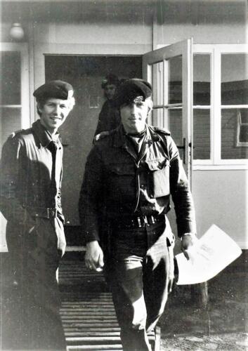 1972-06-23 B-Esk 103 Verkbat Oef 'Juno Catch'. De fourier met d.d. Owi, Wmr I Kuijpers