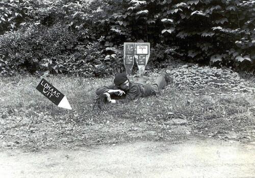 1972 06 23 B Esk 103 Verkbat Oef Juno Catch. Ook de koks nemen deel aan de alarmoefening