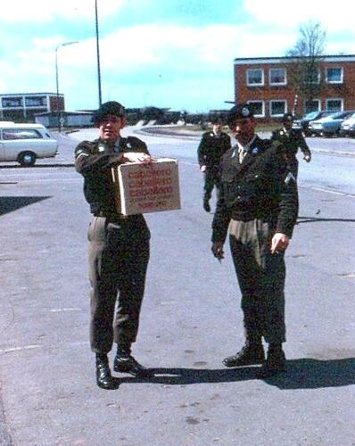 1972-09-09 103 Verkbat Seedorf; S1 toeg Owi Pierre Hoefnagel en Opc 3 B-Esk Wmr I Gerard van Brussel