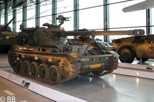 1972 12 B Esk 103 Verkbat De B16 staat nu in het Militair Museum te Soesterberg.