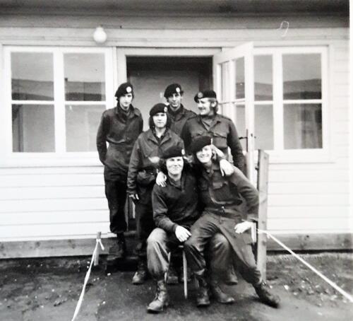 1972 1973 A Esk 103 Verkbat Schietserie Bergen Hohne Legering kamp Horsten Inz. Jan Brugge 3