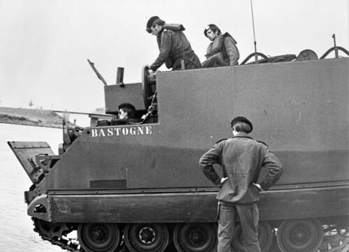1972 1973 B Esk 103 Verkbat Amfibische overgang Inz. PC 2e Pel Hans van den Hoven 1