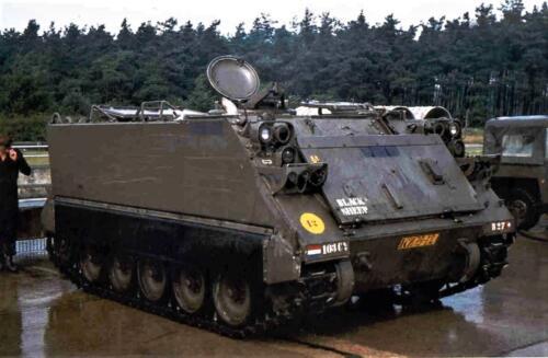 1972 1973 B Esk 103 Verkbat M113 2e Pel Inz. PC Hans van den Hoven.