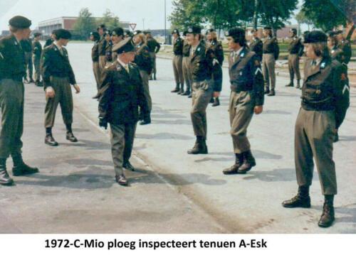 1972 A Esk 103 Verkbat MIO inspectie Fotoboek Ritm RRRE Meeder