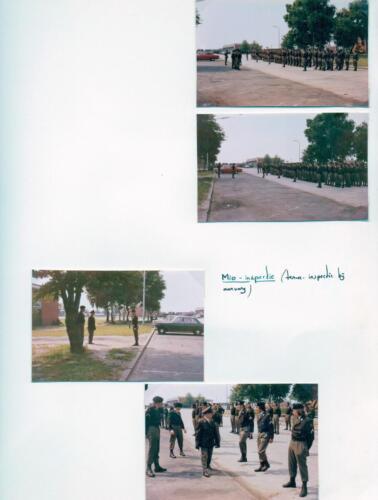 1972 A Esk 103 Verkbat MIO inspectie. Fotoboek C A Esk Ritm R Meeder