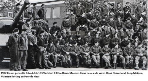 1972 A Esk 103 Verkbat Ritm Meeder Linker helft.