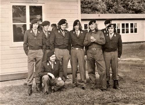 1972 A Esk 103 Verkbat. Wellicht in kamp Horsten