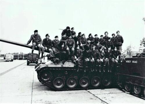 1972 A esk 1e Pel 103 Verkbat Legerplaats Seedorf