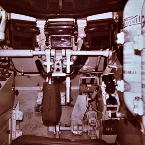 1973 09 A Esk 103 Verkbat Oef Big Ferro met US troepen Inz. Frederik Tattersall 14