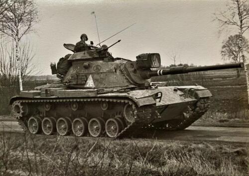1973 09 A Esk 103 Verkbat Oef Big Ferro met US troepen Inz. Frederik Tattersall 18