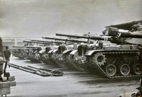 1973 09 A Esk 103 Verkbat Oef Big Ferro met US troepen Inz. Frederik Tattersall 19