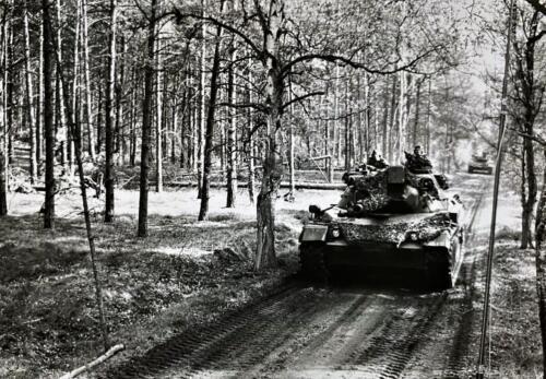 1973 09 A Esk 103 Verkbat Oef Big Ferro met US troepen Inz. Frederik Tattersall 2