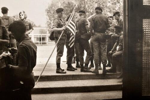 1973 09 A Esk 103 Verkbat Oef Big Ferro met US troepen Inz. Frederik Tattersall 4