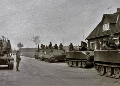 1973 09 A Esk 103 Verkbat Oef Big Ferro met US troepen Inz. Frederik Tattersall 6