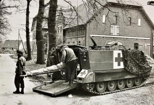 1973 09 A Esk 103 Verkbat Oef Big Ferro met US troepen Inz. Frederik Tattersall 9