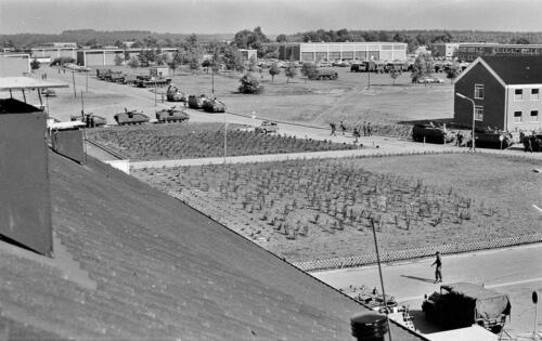 1973 103 Verkbat Seedorf Het nieuwe onderkomen voor het bataljon 1