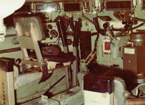 1973 A Esk 103 Verkbat Radarbak M113 Rasura en opgestelde rasura. Inz Koos Oosterhoff 1