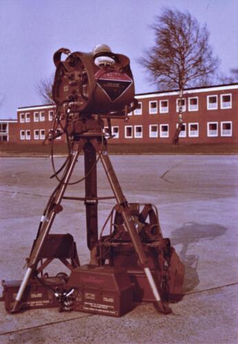 1973 A Esk 103 Verkbat Radarbak M113 Rasura en opgestelde rasura. Inz Koos Oosterhoff 2 1